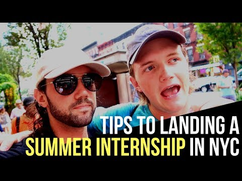 How to Get an Internship at a NYC Startup While in College