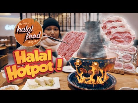 Halal Food in China, Tsing Tao - Episode 1 | Best Halal Hotpot in China!