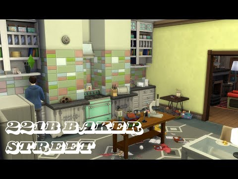 221b Baker Street Flat Speed Furnishing « Sims 4