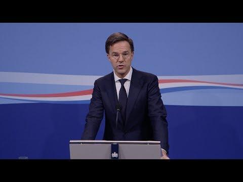 Integrale persconferentie MP Rutte van 24 november 2017