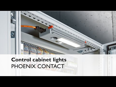 Control cabinet lights from Phoenix Contact
