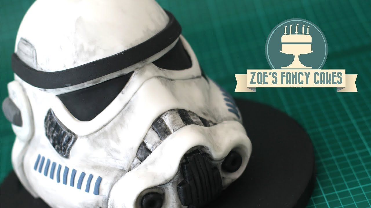 Stormtrooper Cake Star Wars 3d Birthday Cakes Youtube