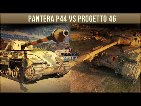 Кто круче? Pantera P44 vs Progetto 46 wot blitz. Конец Free to win?