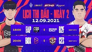 FAP Esports vs B2F Gaming | BOX Gaming vs Cerberus Esports | Vòng 1 - ĐTDV mùa Đông 2021 (12/09)