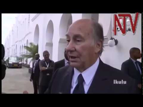 AgaKhan arrives in Tanzania, meets President Magufuli at the start of a two day visit