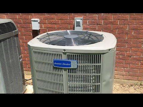 HVAC: American Standard XV20 Install