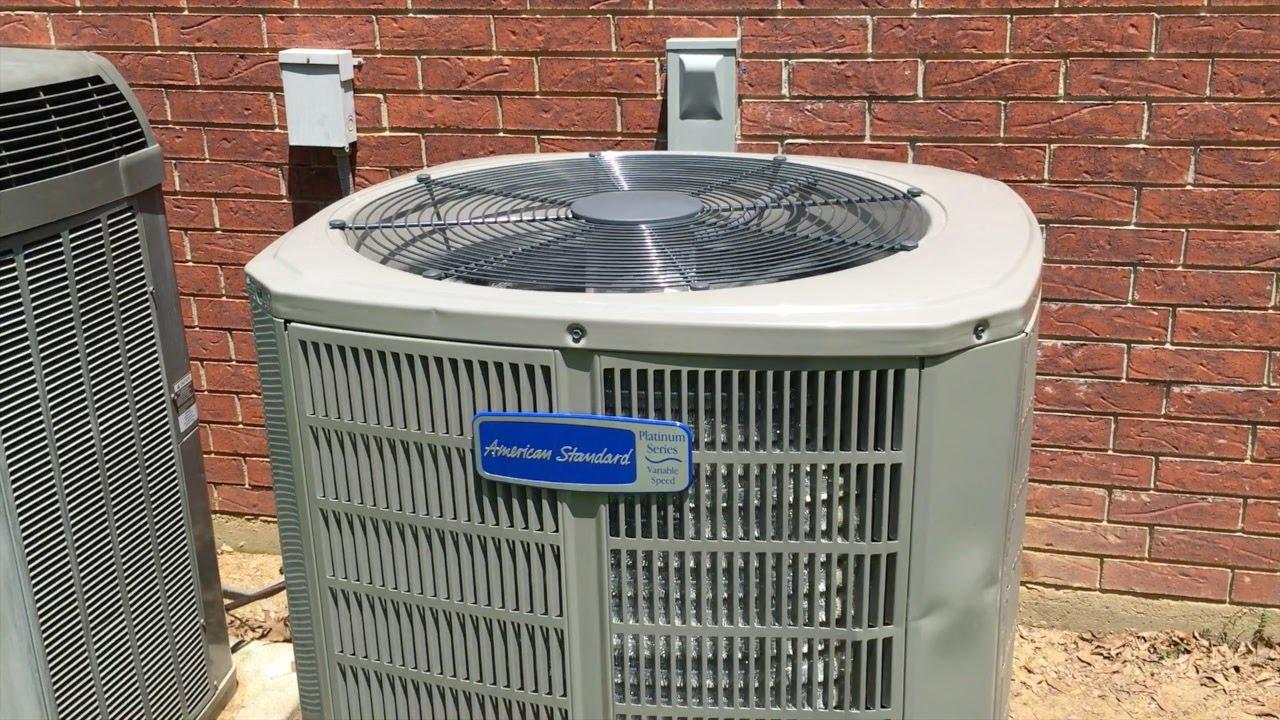 HVAC: American Standard XV20 Install - YouTube