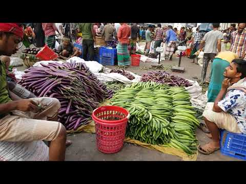 Vegetables Market / Big Bazar / Amazing Huge Fresh Vegetables Available Market Dhaka Bangladesh