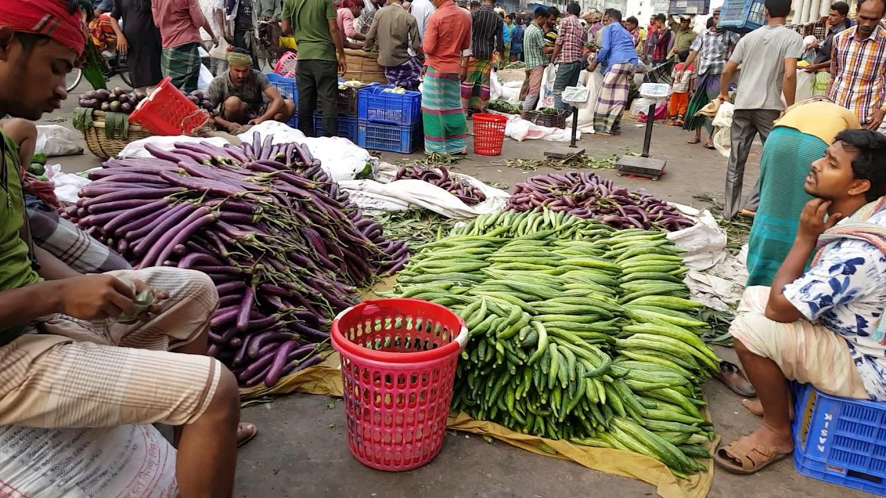 Vegetables Market Big Bazar Amazing Huge Fresh