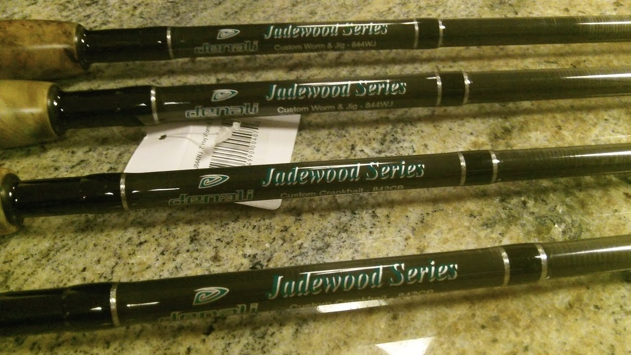 Denali fishing rods unboxing 4 rods youtube for Flair fishing rod