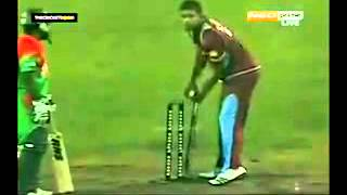 never seen before funny incident in cricket batsman forgot to take the winning run