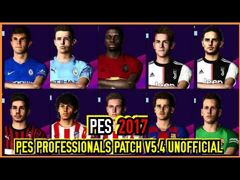 PES 2017 | PES PROFESSIONALS PATCH 2019 V5.4 UNOFFICIAL