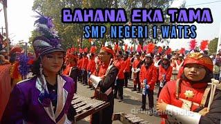 Display Drumband Bahana Eka Tama Smp Negeri 1 Wates Pawai Kemerdekaan Alun-alun Wates