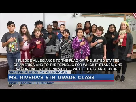 Ms. Rivera's 5th Grade Class At Bruce Drysdale Elementary