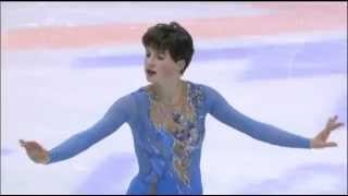 Irina Slutskaya at the 19th Winter Olympic Games in 2002 in Salt Lake City