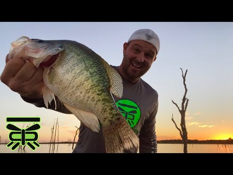 🐟 GIANT FALL CRAPPIE AT SUNSET☀️ [2 Hrs To Fish After Work]