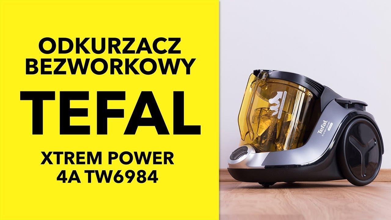 Tefal Xtrem Power 4A TW6984 - dane techniczne - RTV EURO AGD