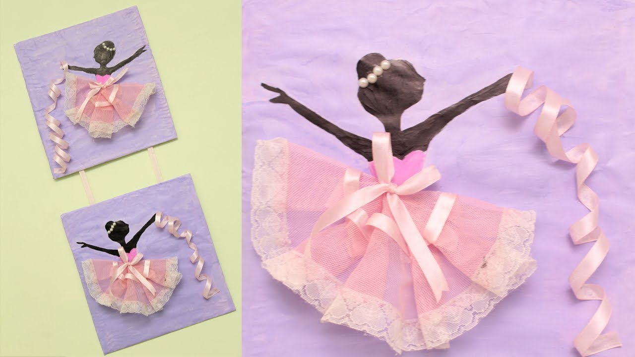 Diy Wall Decoration Ideas Diy How To Make Ballerina