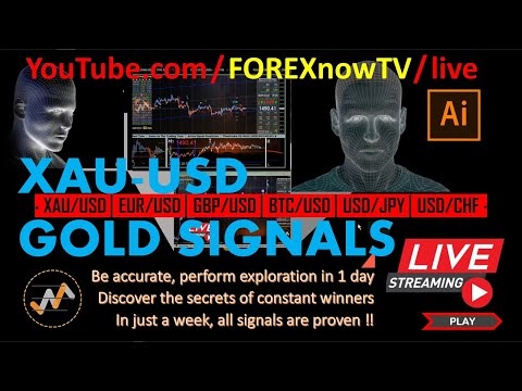 FOREX Trading 2018 │ Active Signal Prediction GOLD │ 100% Robot-EA │ 24 Hours │ Live Now ‼