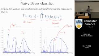 undergraduate machine learning 24: Text classification with Naive Bayes