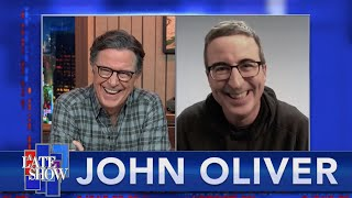 """I Nearly Burst Into Tears"" - John Oliver On Voting For The First Time As An American Citizen"