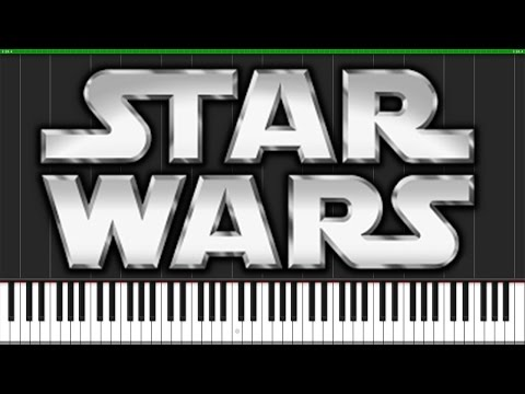 Binary Sunset (The Force Theme) - Star Wars [Piano Tutorial] (Synthesia) // Fontenele NXT
