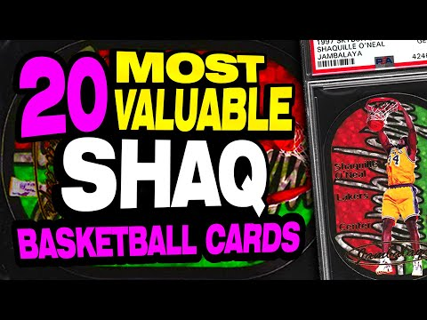 top-20-most-valuable-shaquille-o'neal-basketball-cards-w/-rookie-card-1990's-cards