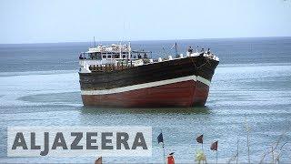 Somali pirates target ships in the Indian Ocean