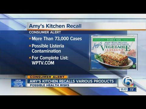 Amy's Kitchen recalls various products