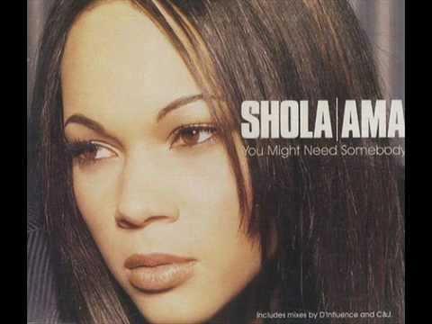 Shola Ama - You Might Need Somebody (acoustic)