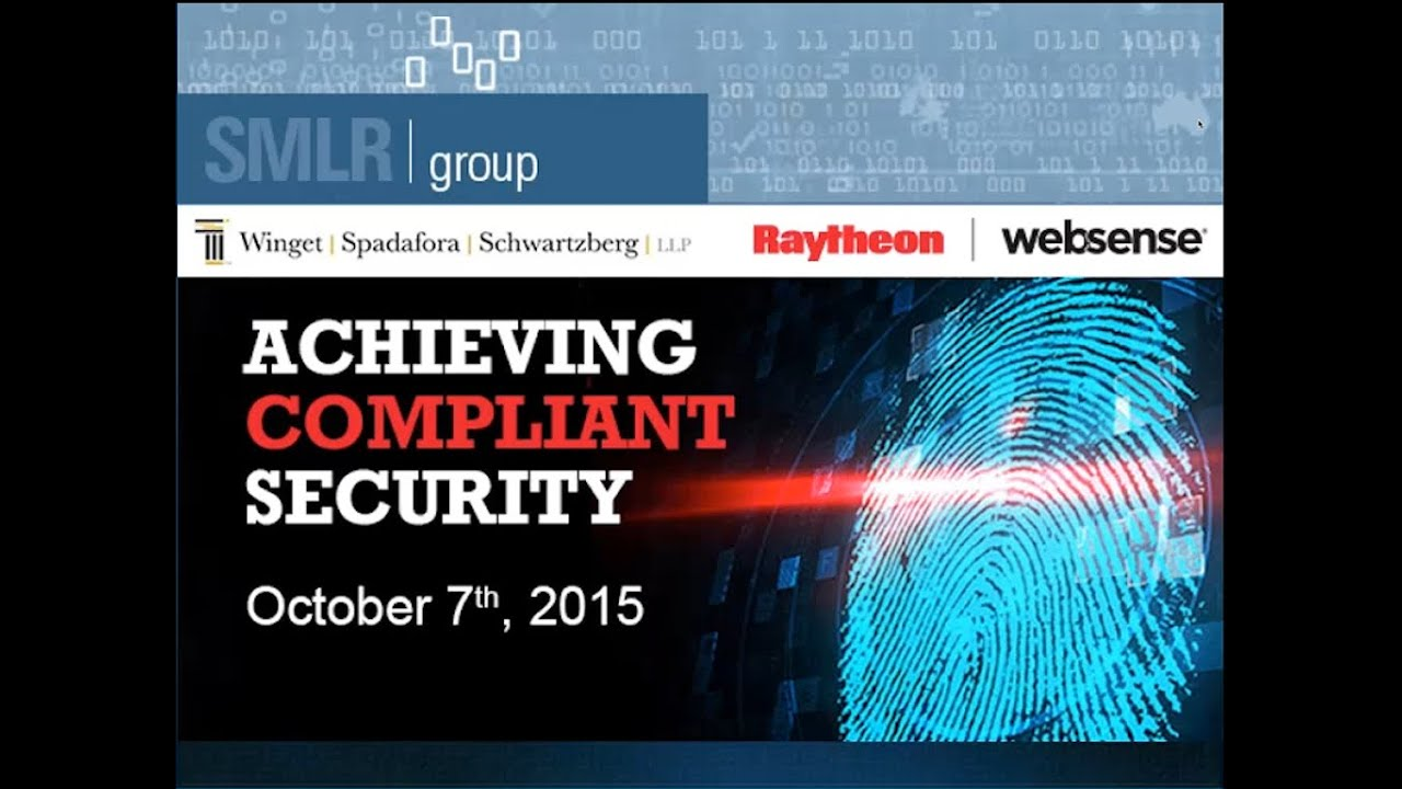 Achieving Compliant Security Youtube