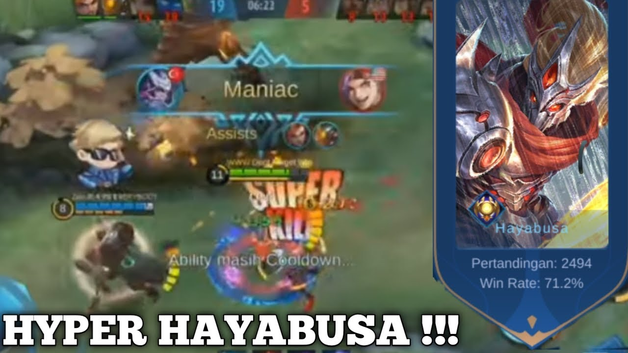 HAYABUSA MATCH KE 2494 MENGGILA DI LAND OF DOWN !!!