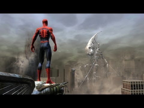Spider man Web of Shadows Boss Symbiote Vulture - YouTube