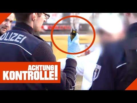 Pfefferspray bei Polizeikontrolle gefunden: Ist der Mann gefährlich? | Achtung Kontrolle
