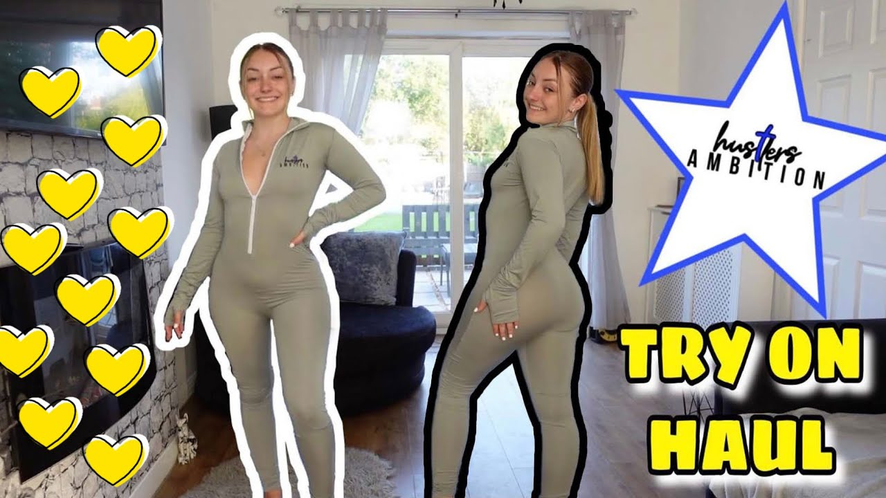 A HUSTLERS AMBITION TRY ON HAUL!!
