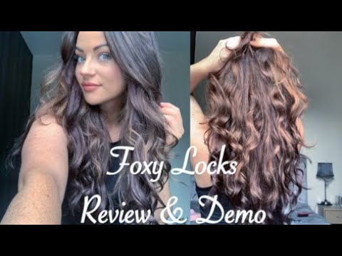 Foxy Locks Hair Extensions Honest Review Demo Mochaccino A Lil Parisian Haul Youtube