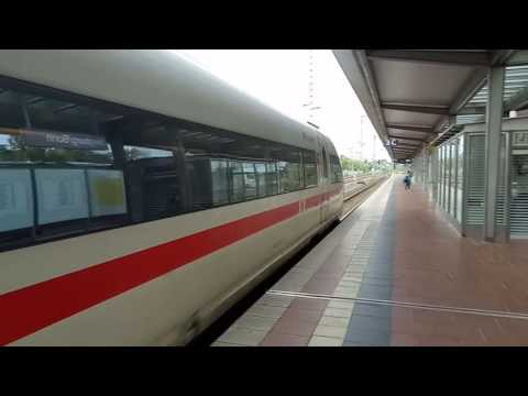 20160904 Siegen/Bonn station ICE