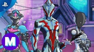 Warframe - Super Space Ninjas Animation | PS4