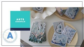 Darin visits born and raised Annapolis artist, Kim Hovell and learn...