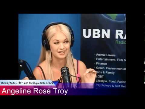 Angeline Rose Troy on Happy Hour with Ben & Alexander on Universal Broadcasting Network
