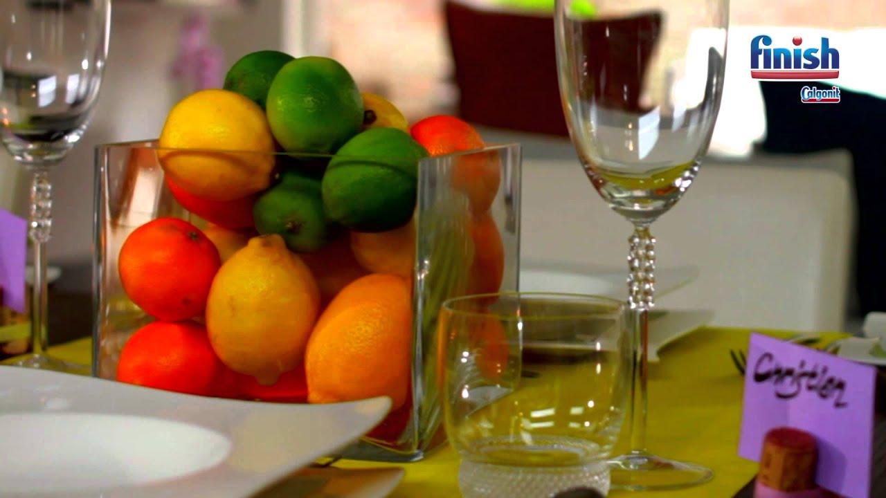 Beeindruckende Tischdekorationen