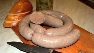 Колбаса Ливерная ГОСТ домашний рецепт , без специального оборудования .
