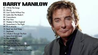 Barry Manilow Greatest Hits (Full Album) Best Songs Of Barry Manilow