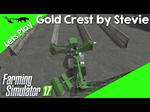 Let's Play Farming Simulator 17 Gold Crest By Stevie Episode 38