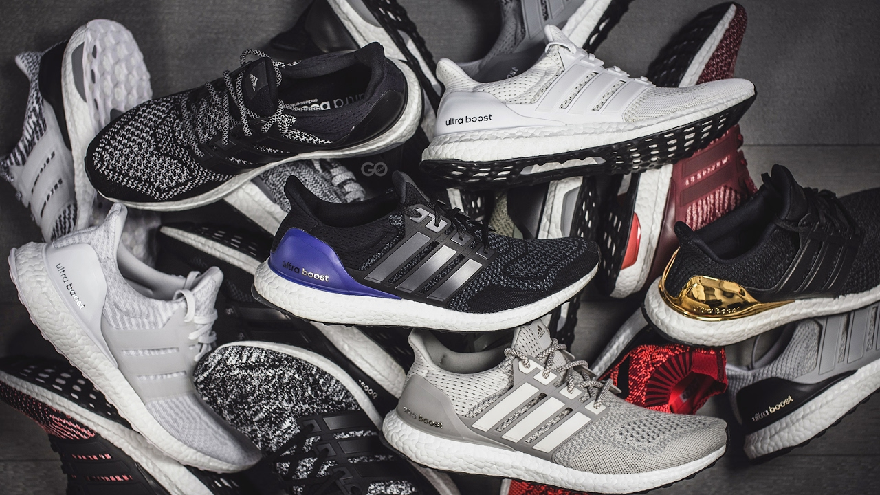 7b657c1d04f25 My Adidas Ultra Boost Collection - YouTube