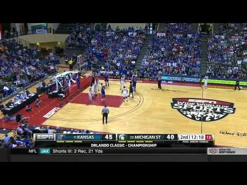 Kansas Jayhawks vs Michigan State Spartans