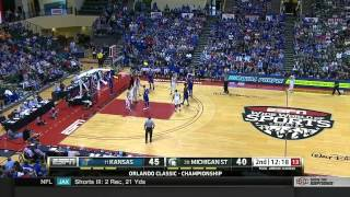 Kansas Jayhawks vs Michigan State Spartans