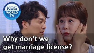 (1Click Scene) Why don't we get marriage license? [Brilliant Heritage/ENG,CHN/2020.09.25]