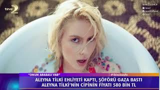 2. Sayfa: Aleyna Tilki 580 bin TL'ye cip aldı!