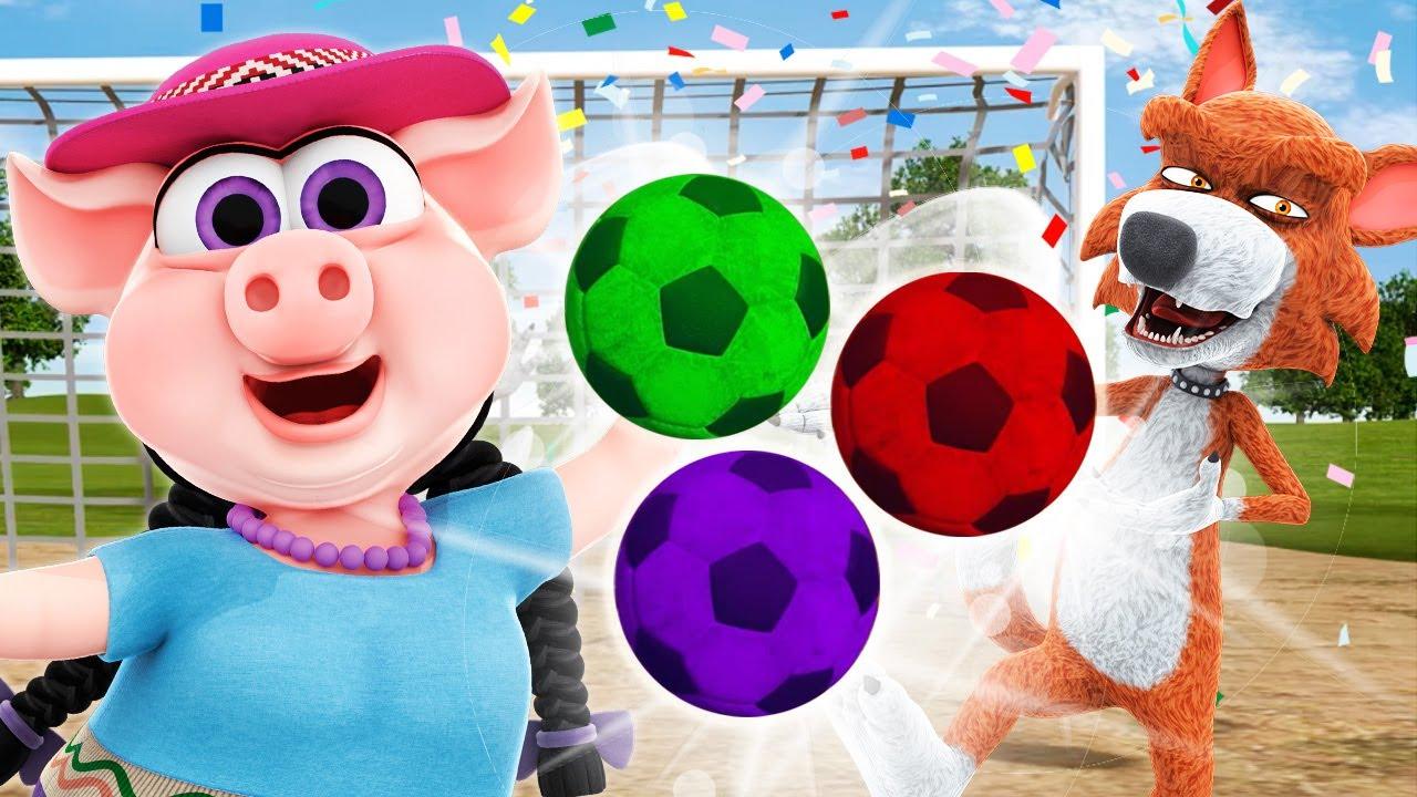 Fútbol con balones de Colores #Sports | La Granja de Zenón
